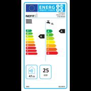 Energielabel Nefit TrendLine II HRC25 CW4